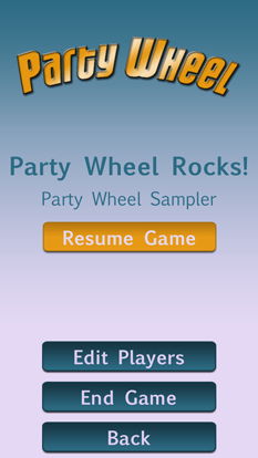 Party Wheel Resume Game